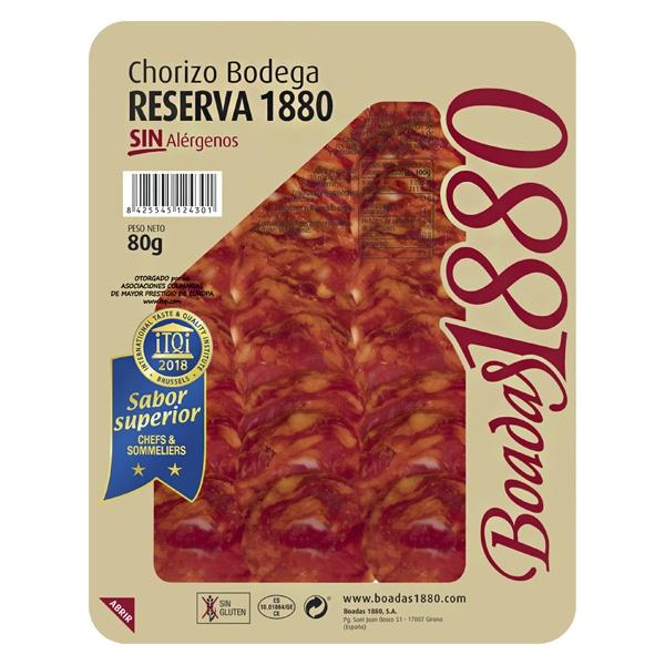 Chorizo bodega reserva 1880