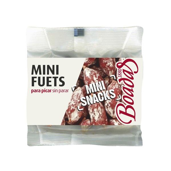 Mini fuets snacks para picar