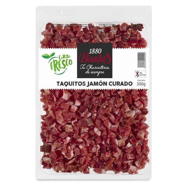 Taquitos jamón curado snack
