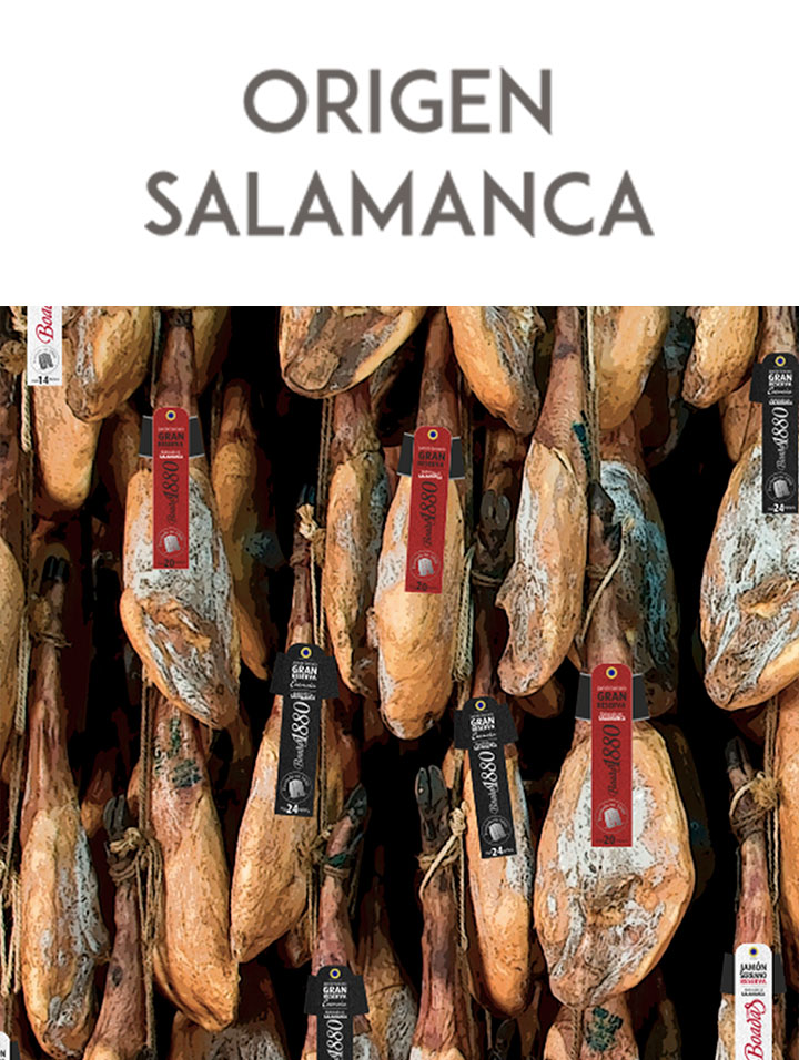 Jamones Boadas de Salamanca - Boadas 1880