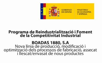 Programa de Re industrialització i Foment de la Competitivitat Industrial